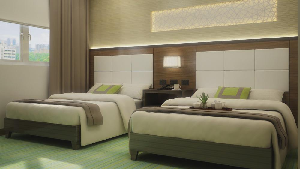 Furnished Room - Arterra Bayfront Residences